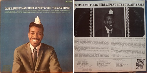 DAVE LEWIS - Play Herb Alpert & Tijuana Brass - JERDEN records