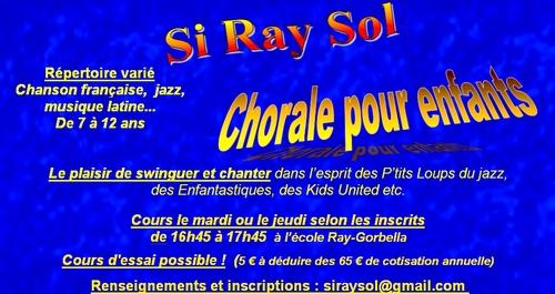 La chorale d'enfants recrute et c'est aussi sur Facebook !