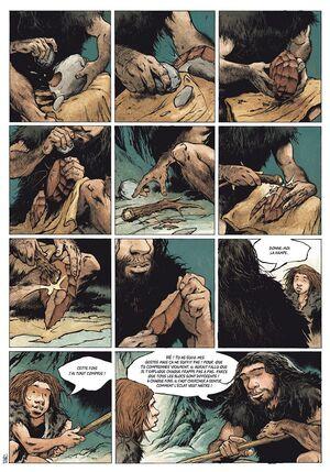 Le Cristal de Chasse de Roudier - Néandertal, tome 1