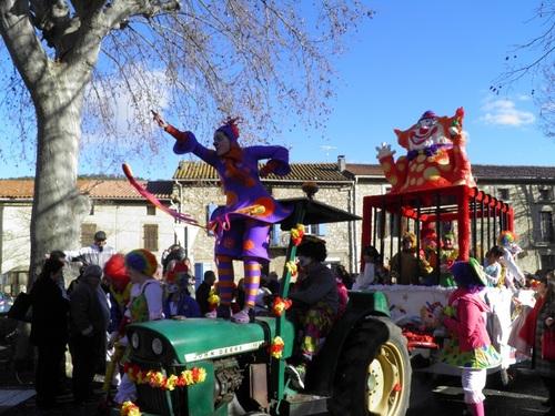 On s'est A.J.T é au Carnaval de Bize 2015