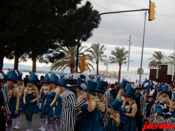 Espagne/ Carnaval 2018 de Rosas , le plus ancien des carnavals de Gerona