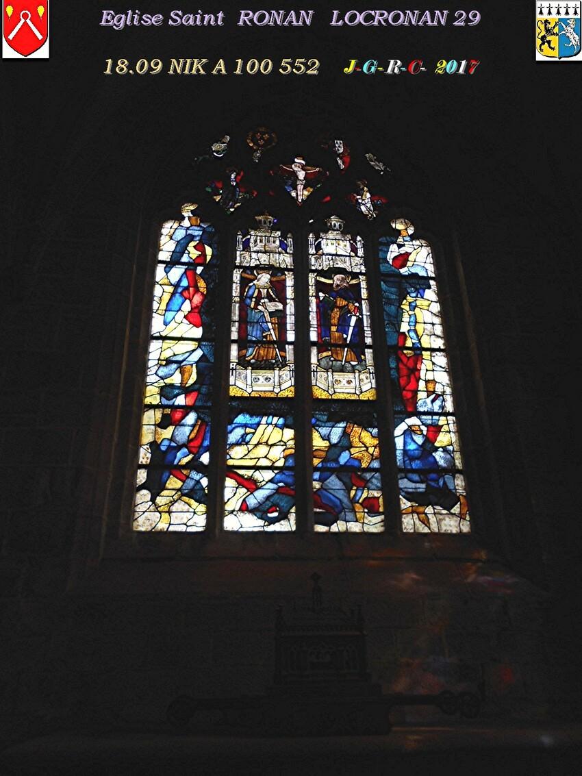 Eglise Saint  RONAN de  LOCRONAN  1/3     D   15/09/2018