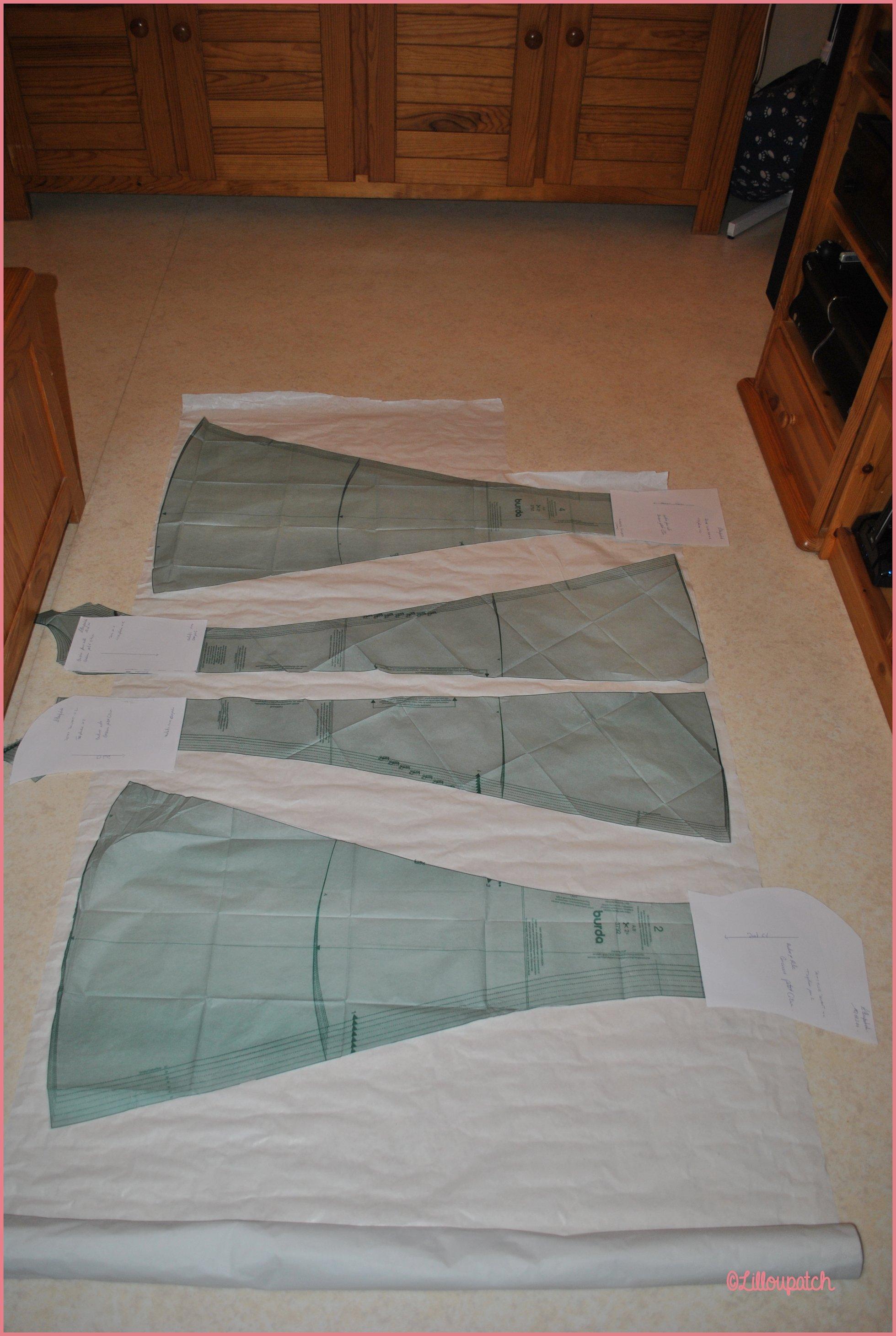 Choix tissus pour robe petit citron