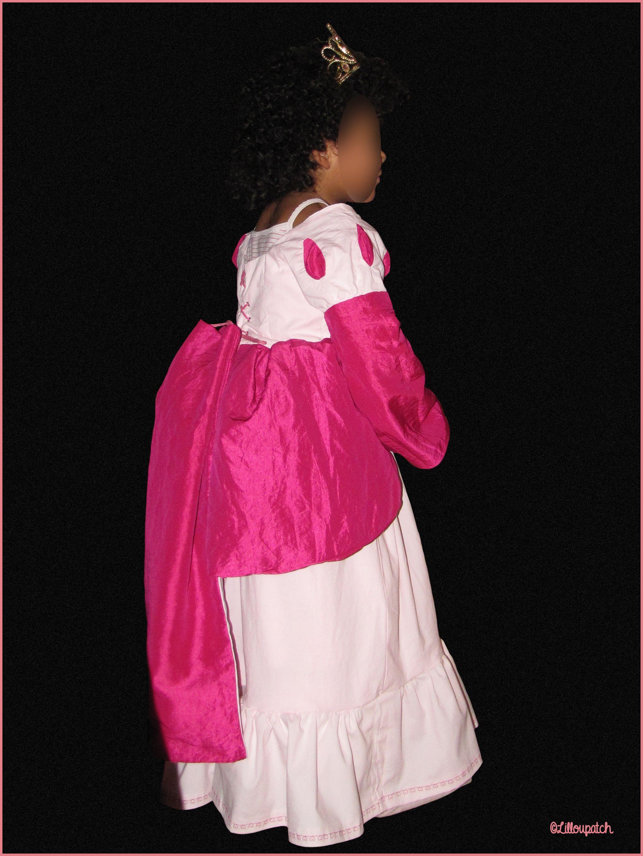 Robe princesse 3/4 dos