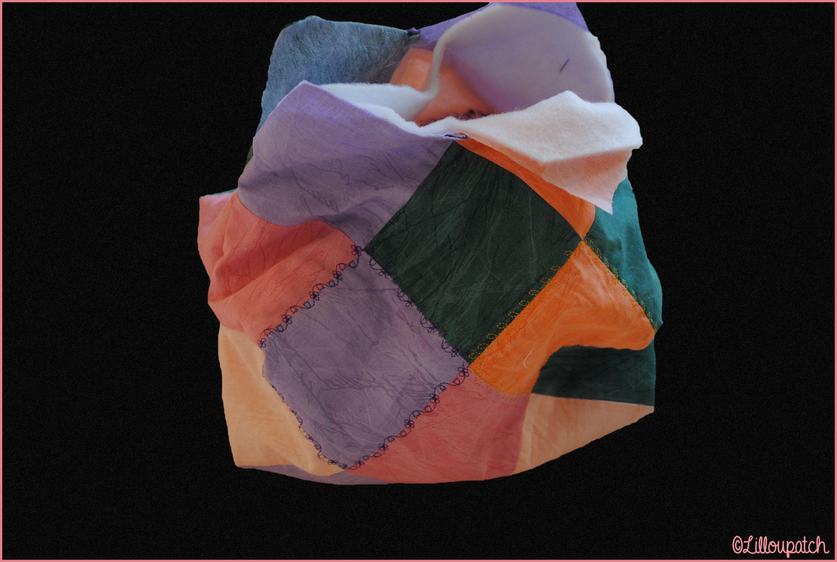 Sac 22 carrés patchwork