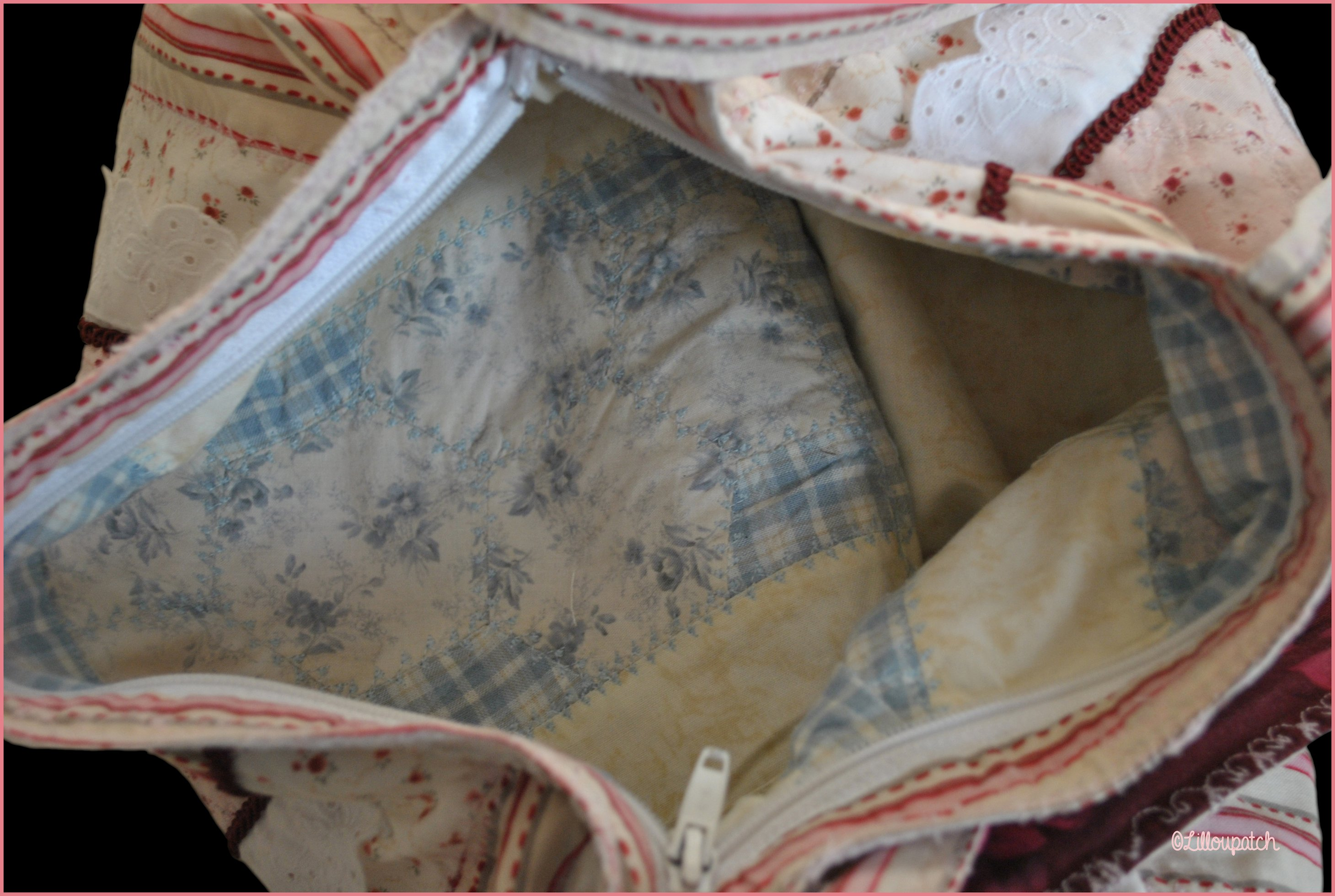 Sac british patchwork photo 5
