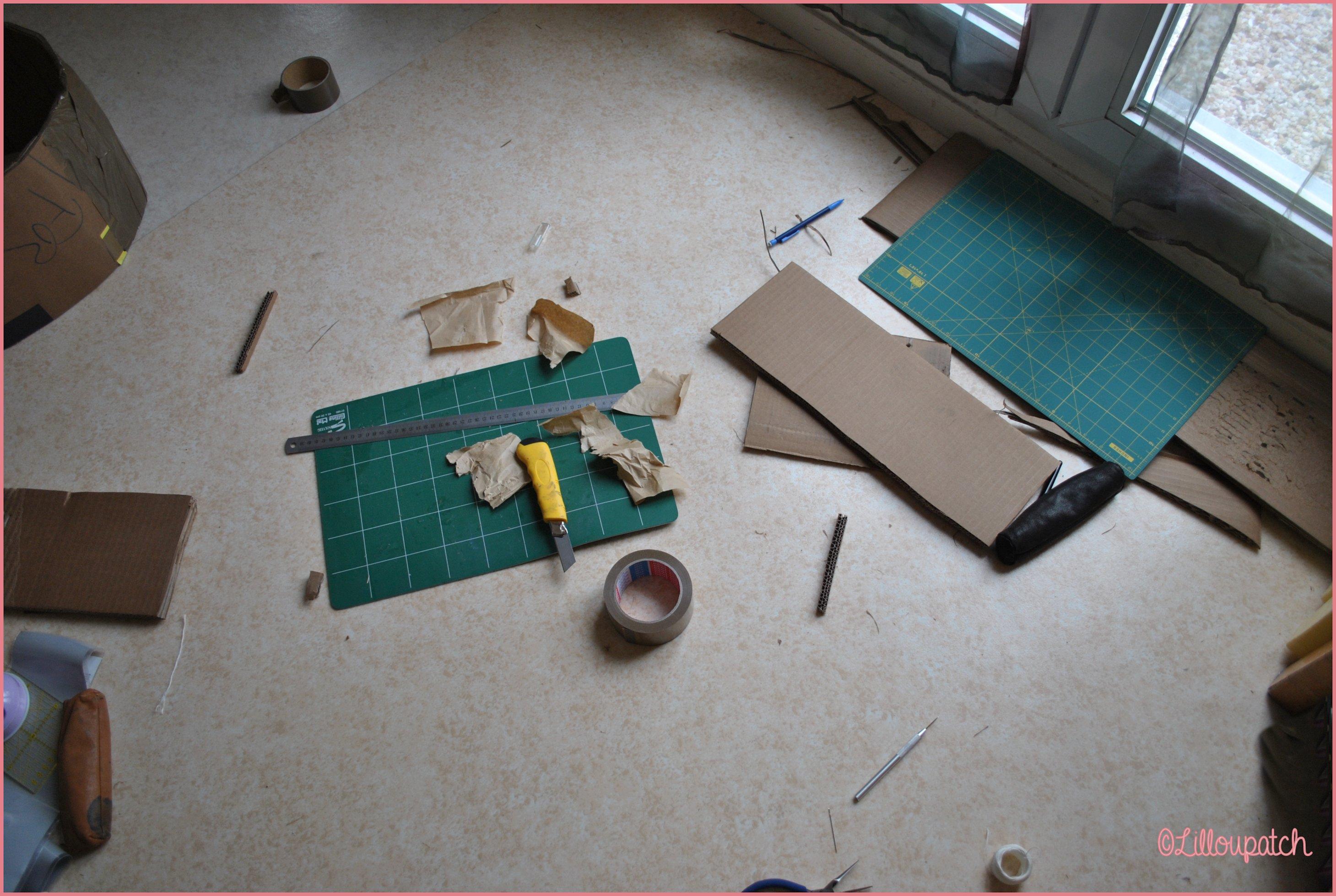 Préparation maquette berceau