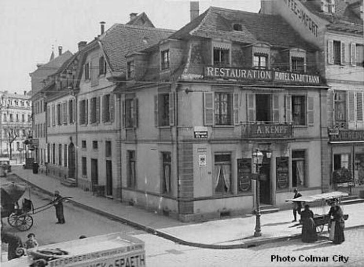 Colmar : Rue Stanislas