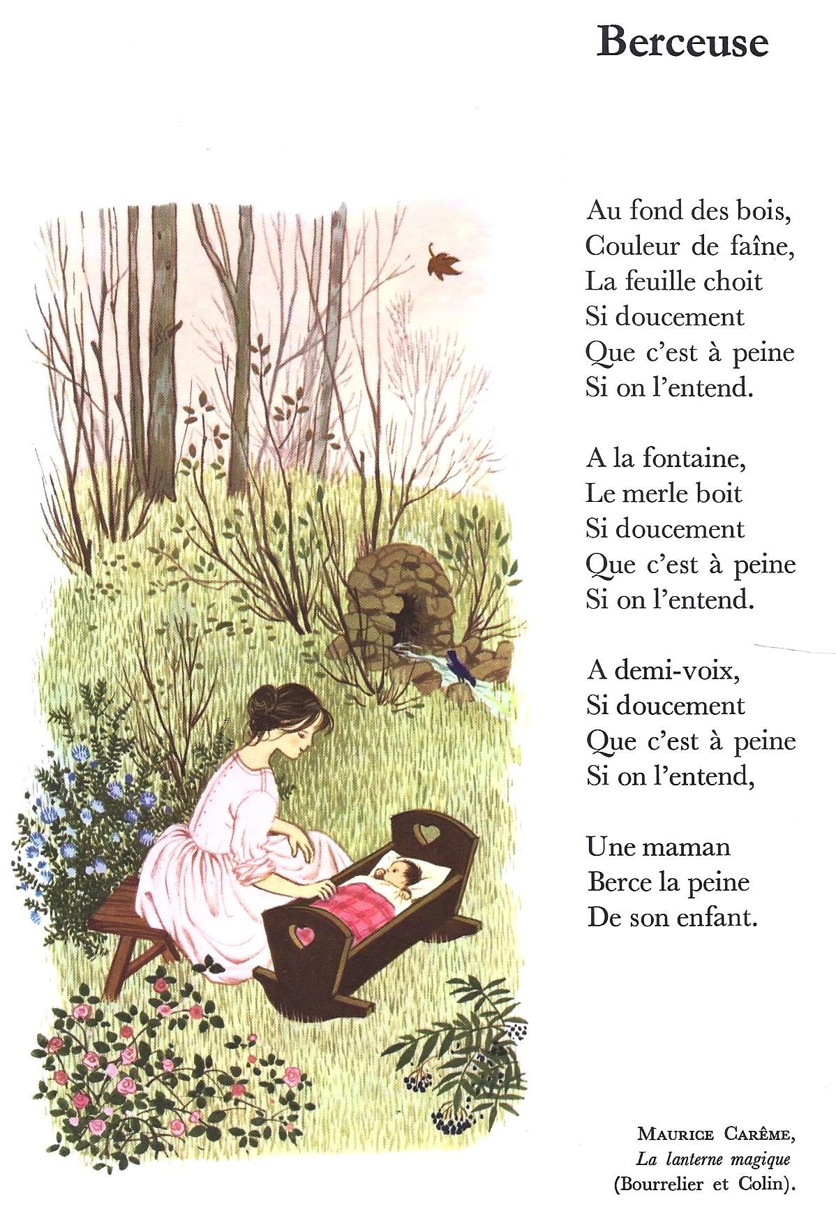 Berceuse (Maurice Carême)