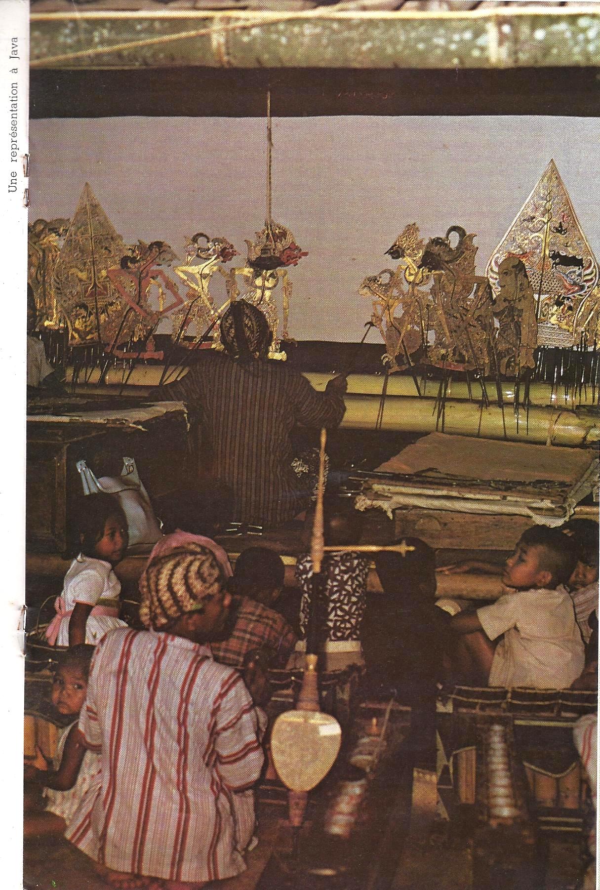 Le théâtre d'ombres à Java