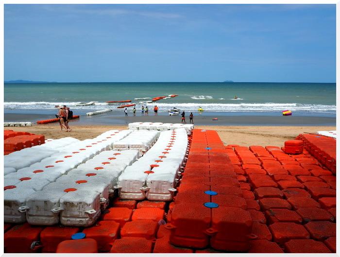 Photos de Thaïlande. Dongtan dernière plage publique