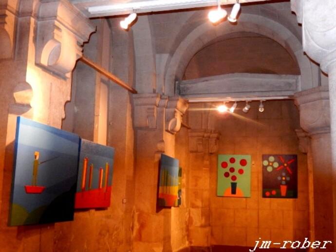 Limoges  Colectif Art'Up» expose leurs œuvres à l'Espace Noriac Bas
