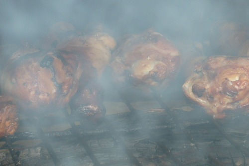 poulet boucané à Tival