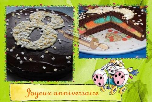 Gâteau Colori