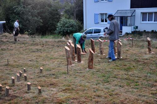 Week end au jardin des sagars