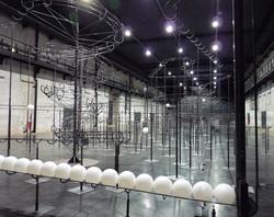 Distance : une œuvre de Jeppe Hein au Life