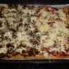 pizza duo boeuf lardons
