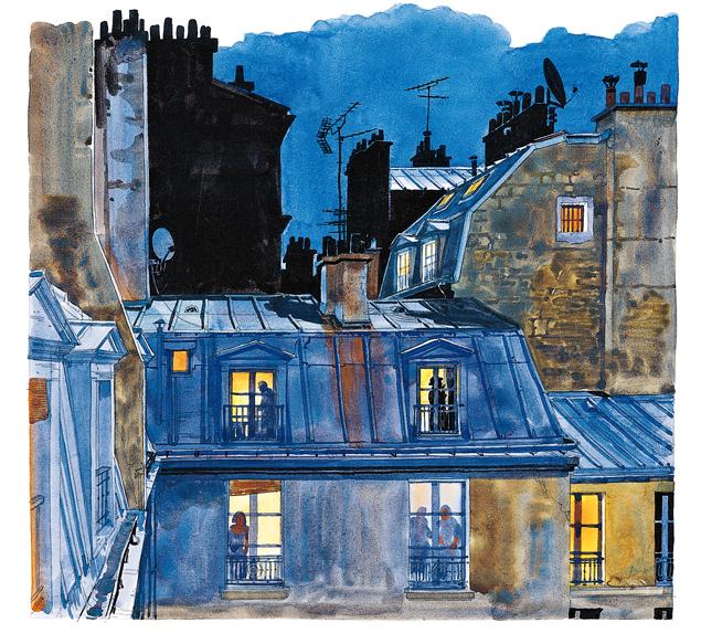 (14) Rue de Ménilmontant. Belleville.