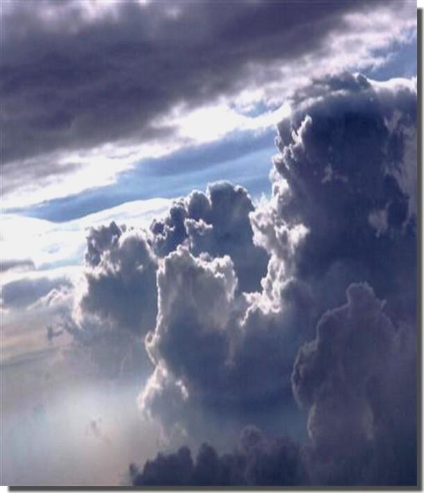 Montagnes. Ciel. Nuages (4)