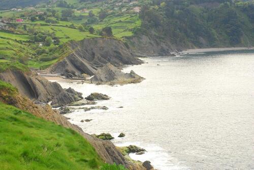 la côte falaise