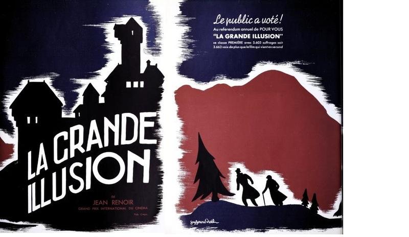 LA GRANDE ILLUSION AFFICHE 1937