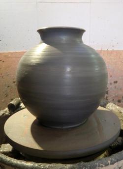 Naissance d'un vase