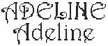 Dicton de la Ste Adeline + grille prénom !