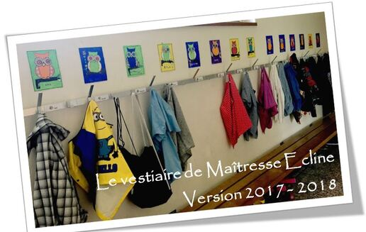 La décoration du vestiaire version 2017 - 2018