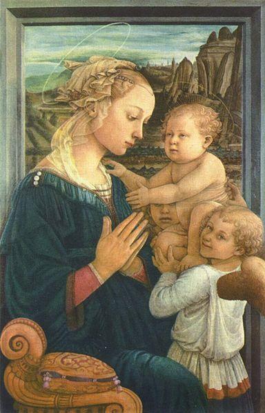 Fra Filippo Lippi (Vierge florentine)
