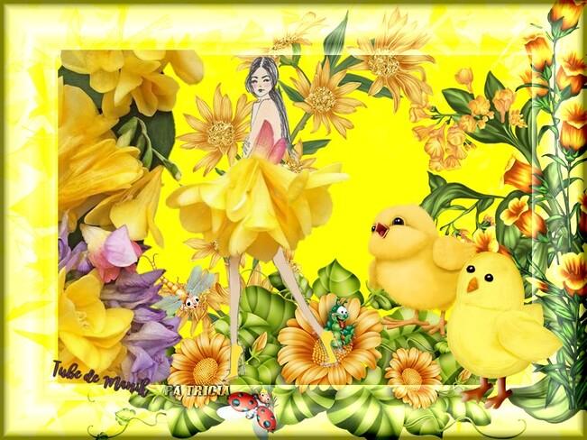 J aime le jaune