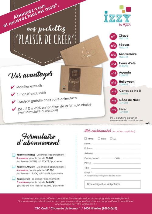 """Pochettes """"Plaisir de Créer"""" : numéro 1 : la pochette Cocoon"""