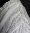 Col Boutonné de chemise de nuit
