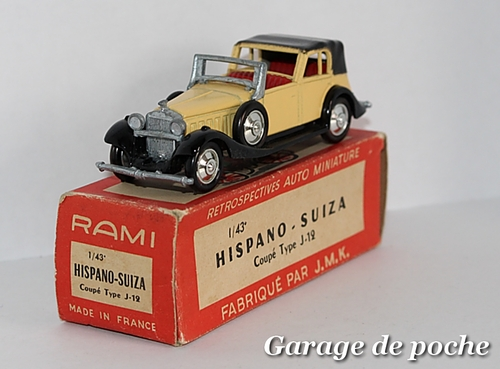 Hispano-Suiza coupé type J-12 de 1934 RAMI JMK