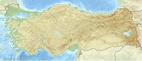 Voir la carte topographique deTurquie