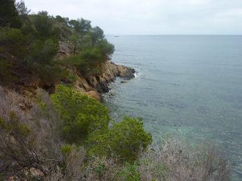 Entre les plages du Pellegrin et de Léoube