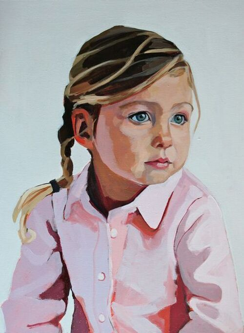 Dessins portraits enfants