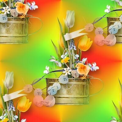 Textures de Pâques pour Fonds de pages