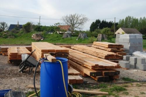 A partir du 15 mai - ossature bois