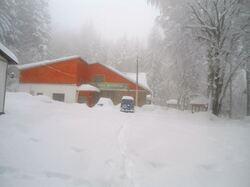 14 mars: neige surabondante !