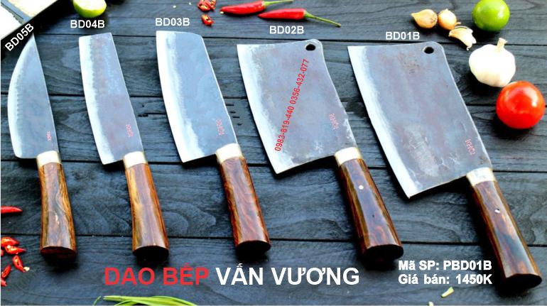 Dao kéo Phúc Sen - Bộ dao làm bếp Phúc Sen cao cấp
