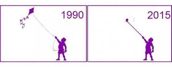 L' évolution des mentalités ...