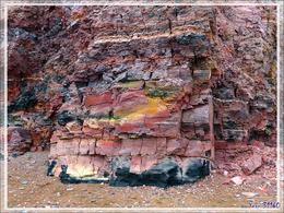 Couleurs en vrac - Smoking Hills - Cape Bathurst - Territoires du Nord-ouest - Canada