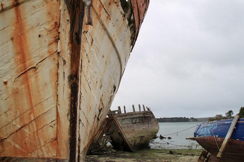 843 - Entre épaves et volets bleus en Presqu'île de Crozon (29)