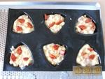 Muffins chorizo & dés d'emmental