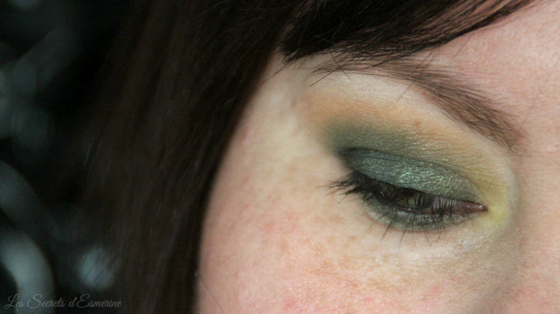 make up au couleur de la Saint Patrick