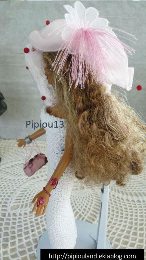"""Barbie en  modèle """"Albizia"""""""