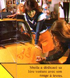 Mars 1972 : ouverture du Musée Sheila !
