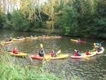 Kayak sur le canal