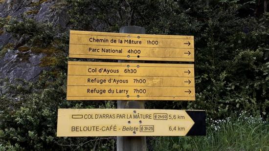 panneau indicatif