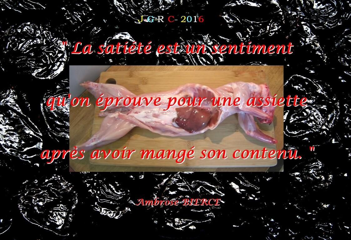 RECETTE   D - O- M: Lapin aux prunreaux et au rhum            D     15/05/2016